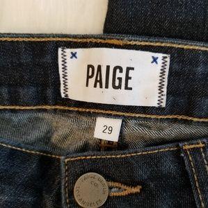 Paige Manhattan Dark Wash Jean - Size 29
